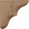 "1 3/4""W x 5 1/2""D x 5 1/2""H Small Stratford Wood Bracket"