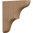 "1 3/4""W x 10""D x 10""H Large Stratford Wood Bracket"