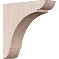 "1 3/4""W x 6""D x 6""H Small Olympic Wood Bracket"