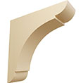 "1 3/4""W x 6""D x 6""H Small Olympic Wood Bracket, Maple"