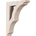 "1 3/4""W x 6 1/2""D x 9""H Small Avila Wood Bracket"