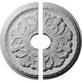 """17 1/8""""OD x 3 1/2""""ID x 1 1/2""""P Washington Ceiling Medallion, Two Piece (Fits Canopies up to 3 1/2"""")"""