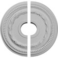 "15 3/8""OD x 3 5/8""ID x 1""P Federal Ceiling Medallion, Two Piece (Fits Canopies up to 8 1/2"")"