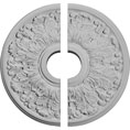 "16 1/2""OD x 3 5/8""ID x 1 1/8""P Apollo Ceiling Medallion, Two Piece (Fits Canopies up to 5 5/8"")"