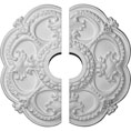 "18""OD x 3 1/2""ID x 1 1/2""P Rotherham Ceiling Medallion, Two Piece (Fits Canopies up to 3 1/2"")"