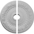 "23 5/8""OD x 3 5/8""ID x 1 1/8""P Bellona Ceiling Medallion, Two Piece (Fits Canopies up to 3 5/8"")"