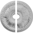 "23 3/8""OD x 3 5/8""ID x 2 1/2""P Granada Ceiling Medallion, Two Piece (Fits Canopies up to 7 1/8"")"