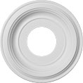 "10""OD x 3 1/2""ID x 1 1/8""P Traditional Ceiling Medallion (Fits Canopies up to 3 1/2"")"