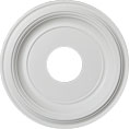 "13""OD x 3 1/2""ID x 1 1/4""P Traditional Ceiling Medallion (Fits Canopies up to 3 1/2"")"