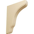 "1 3/4""W x 7 1/4""D x 9 1/2""H Plymouth Wood Bracket, Maple"