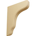"1 3/4""W x 8 1/2""D x 11""H Plymouth Wood Bracket, Alder"