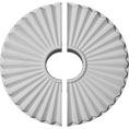 "19 3/4""OD x 1 3/8""P Shakuras Ceiling Medallion, Two Piece (For Canopies up to 5 1/2"")"