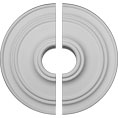 "21 7/8""OD x 2 3/8""P Classic Ceiling Medallion, Two Piece (For Canopies up to 5 1/2"")"