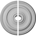 "23 5/8""OD x 1 3/4""P Kepler Traditional Ceiling Medallion, Two Piece (For Canopies up to 4 1/2"")"